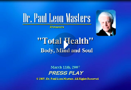 Total Health -- Body, Mind, And Soul
